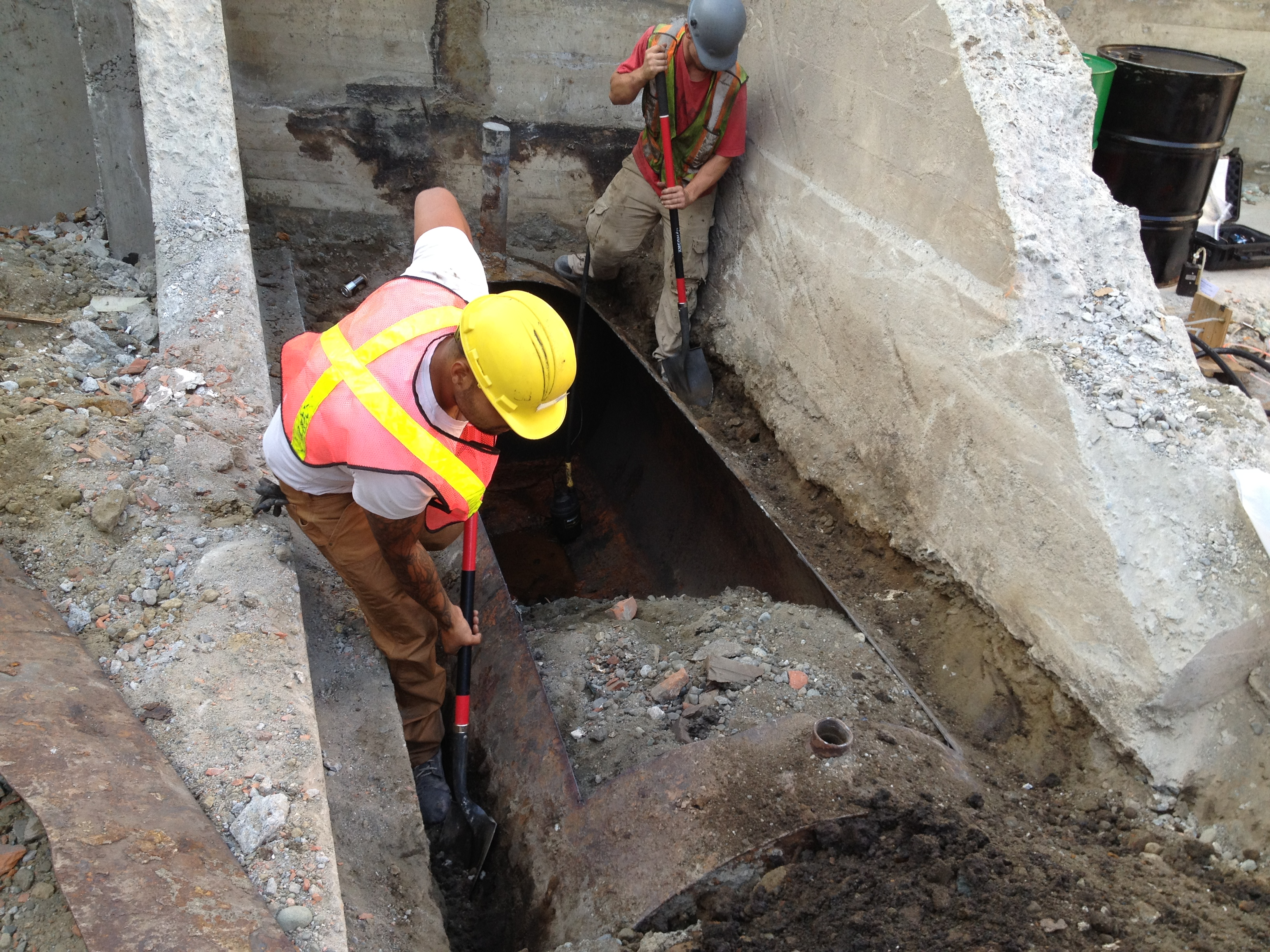 Contaminated soil testing and remediation victoria duncan for Soil xat cut off