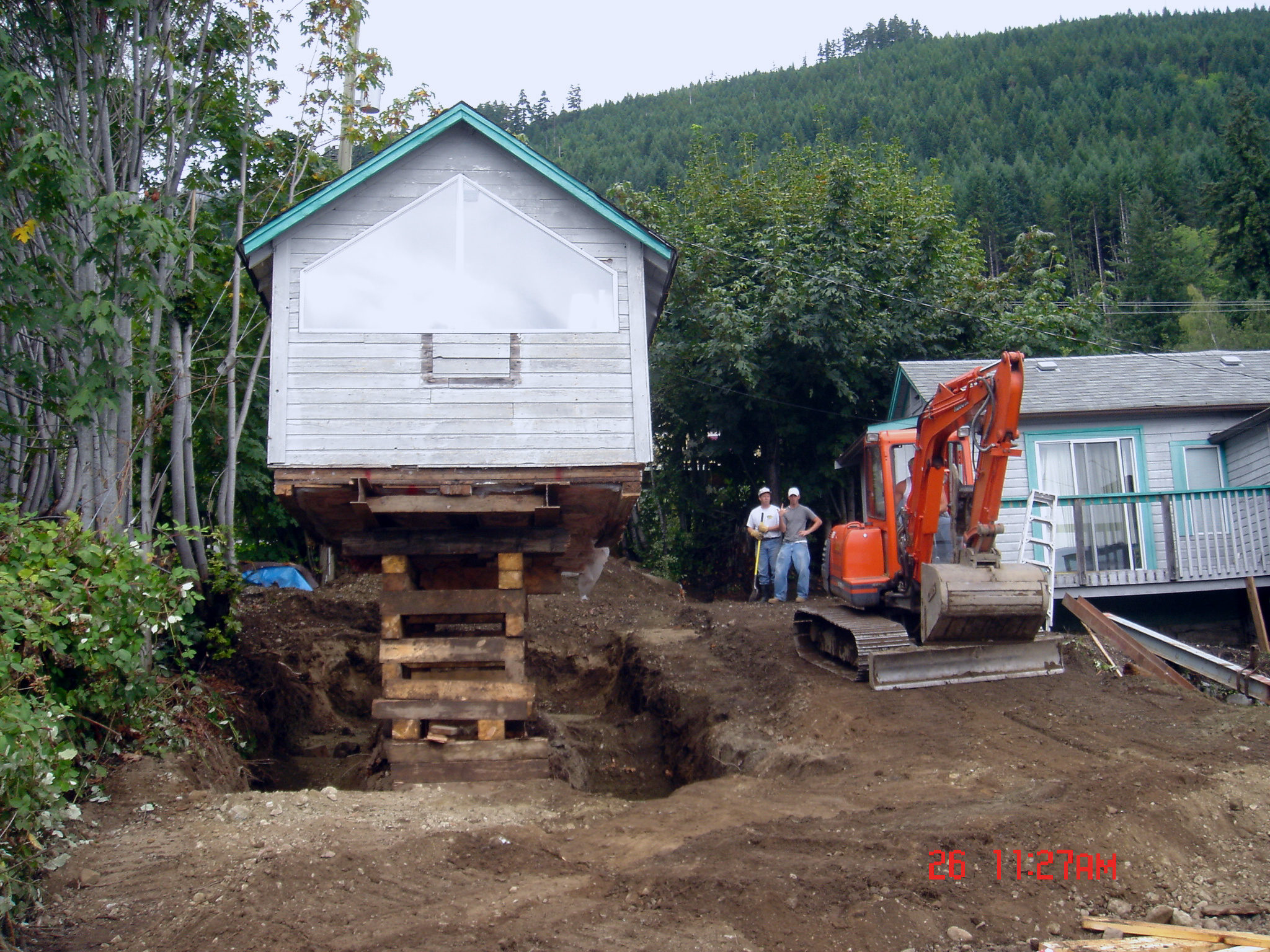 House Moving Raising Victoria Bc Pacific Group
