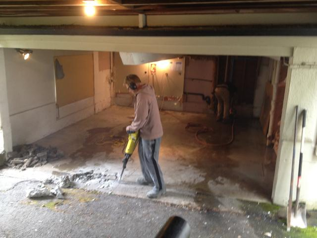 Rock and Concrete Breaking and Removal Victoria BC | Pacific
