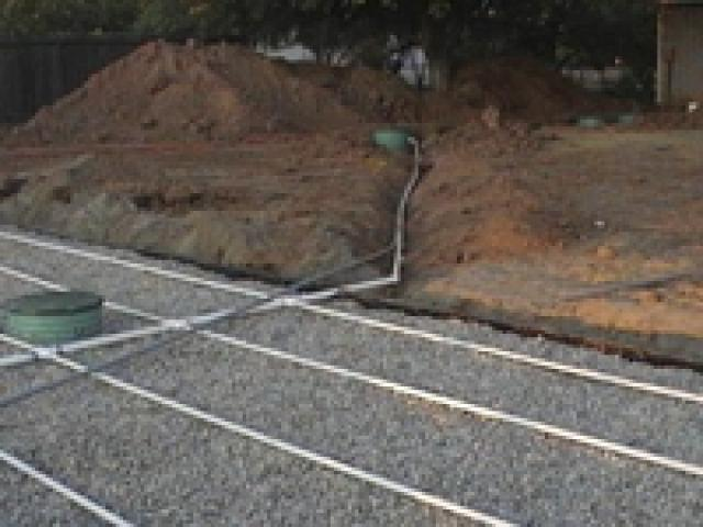 sand filter septic system