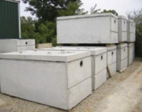 Concrete septic tanks in Victoria BC