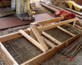 Structural concrete forming for house raising in Victoria BC