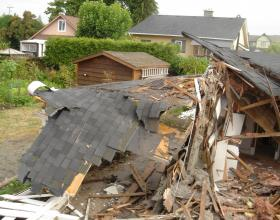 House deconstruction and removal in Victoria BC