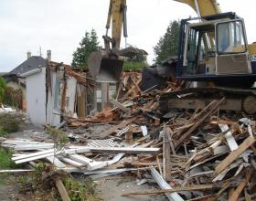 House demolition and disposal in Duncan BC