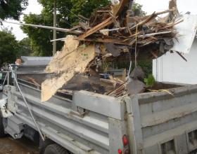 Demolished house removal in Victoria BC