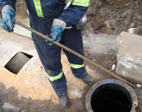 Checking for water content in buried oil tank in Victoria BC