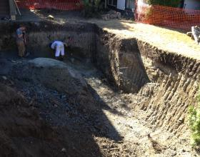 Removing contamination from buried oil tank in Victoria BC