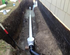 Installation of a backflow valve in Victoria BC