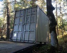 Shipping container sales and delivery in Victoria BC