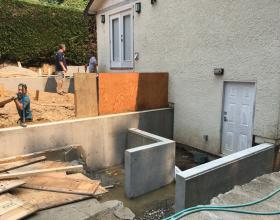 Concrete forms and waterproofing in Victoria BC
