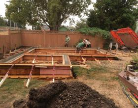 Concrete footings and foundation in Victoria BC