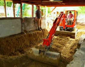 Excavating For Basement in Victoria BC