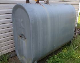 residential above ground oil tank in Victoria BC
