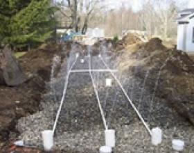 Balancing septic field in Victoria BC