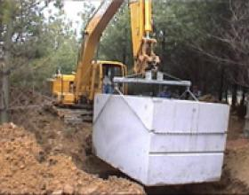 Septic tank installation in Victoria BC