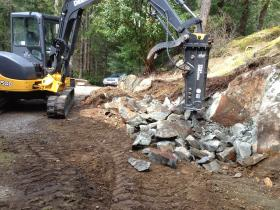 rock and concrete breaking and removal victoria bc pacific group developments