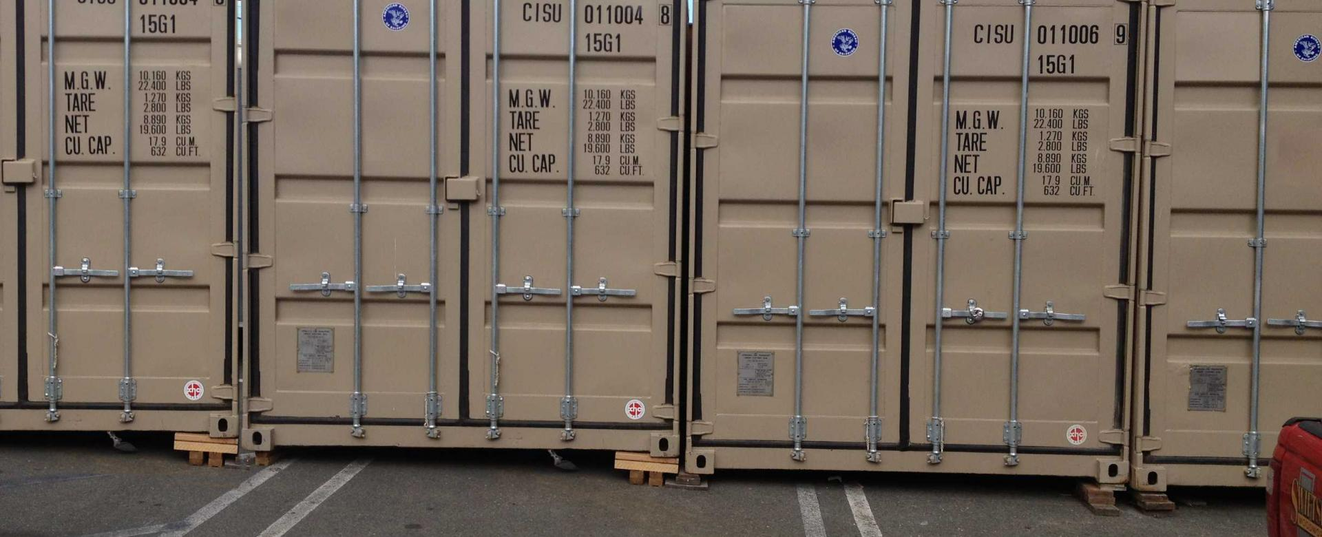 Shipping Containers, Sea Can, Storage Containers Rentals and Sales Victoria BC