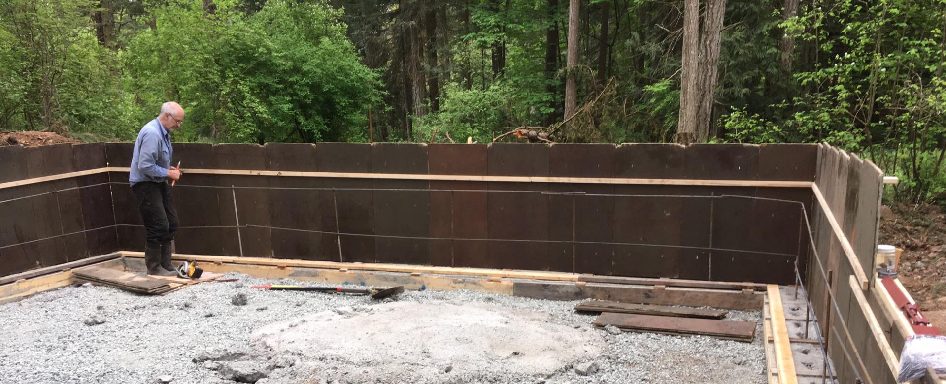 Concrete Form Rentals Victoria BC | Pacific Group Developments