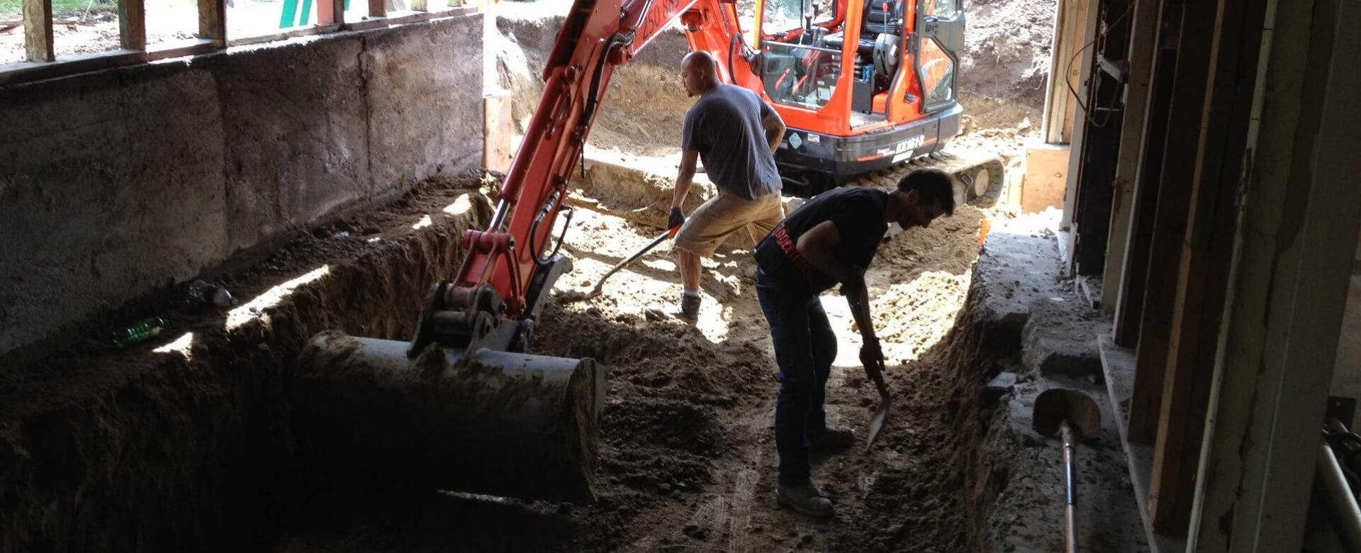 Property development, construction and excavation in Victoria BC